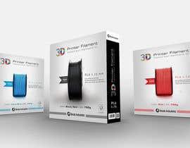 #43 untuk Create Print and Packaging Designs for 3D Filament oleh madlabcreative