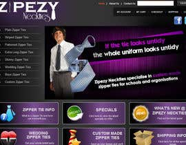 #44 for DESIGN 4 X JQUERY BANNERS FOR DISPLAY ON ZIPEZY NECKTIES' WEBSITE by creationz2011
