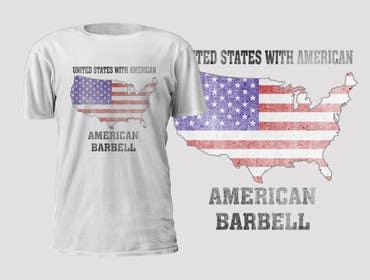 #55 untuk Design a T-Shirt for AmericanBarbell.com oleh murtalawork