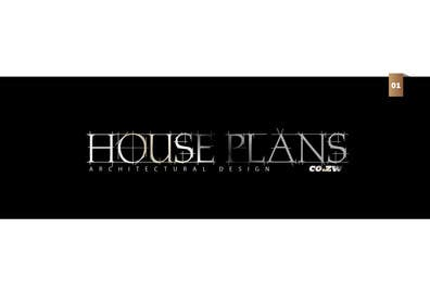 #59 para Design a Logo for HOUSE PLANS Architectural Company por creativeartist06