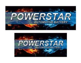 #18 untuk Design a Banner for automotiva battery label oleh designciumas
