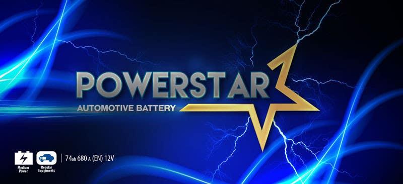 Penyertaan Peraduan #10 untuk Design a Banner for automotiva battery label