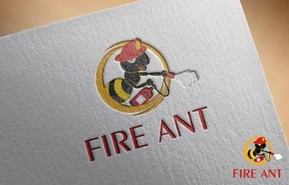 nasser3mad tarafından Design a Logo for Fire Ant fire suppression system için no 23