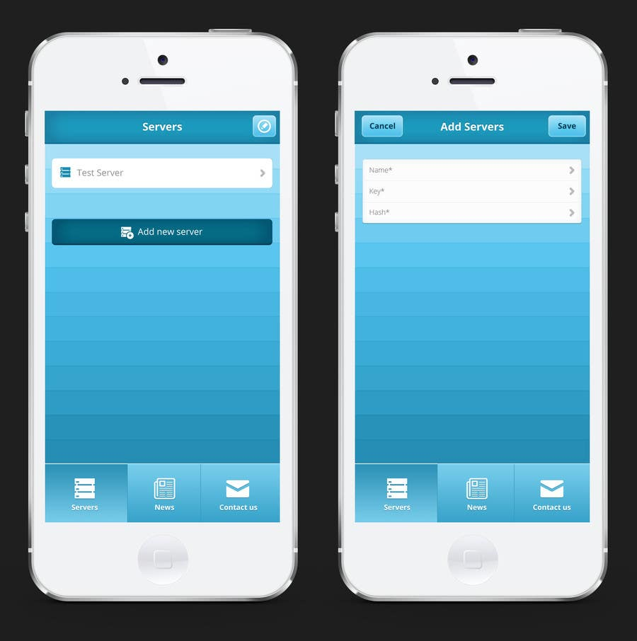 #1 for Design an App Mockup for Cloud Control by rainbowfeats