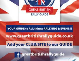 #6 cho Design an Advertisement for Great British Rally Guide bởi mandragory