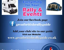#9 cho Design an Advertisement for Great British Rally Guide bởi gopalnitin