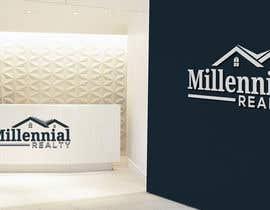 #108 untuk Millennial Logo oleh bhaveshdobariya5