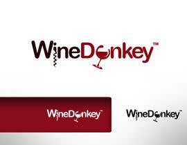 #114 para Logo Design for Wine Donkey por twindesigner