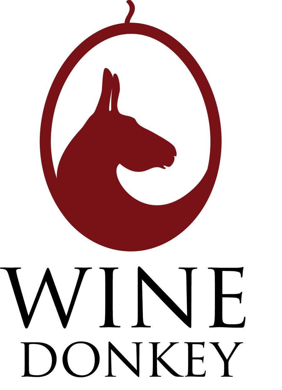 Penyertaan Peraduan #262 untuk Logo Design for Wine Donkey
