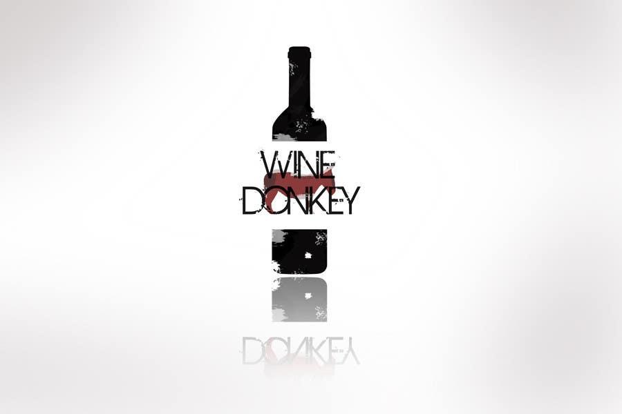 Penyertaan Peraduan #411 untuk Logo Design for Wine Donkey