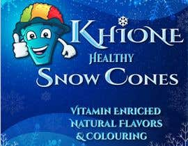 rasithagamage tarafından Khione Snow Cones Banner için no 53