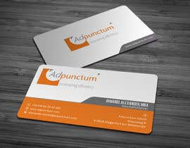 #21 for Design some Business Cards for Adpunctum GmbH af anikush