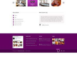 nº 25 pour Hotel website design template par gerardway