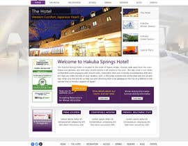 nº 27 pour Hotel website design template par anjaliarun09
