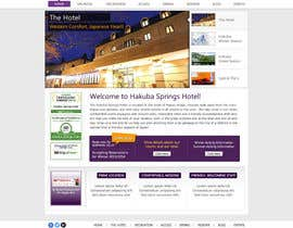 nº 28 pour Hotel website design template par anjaliarun09