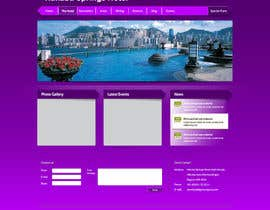 nº 29 pour Hotel website design template par gravitygraphics7