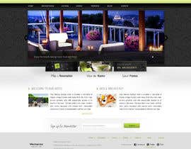 nº 17 pour Hotel website design template par iffal