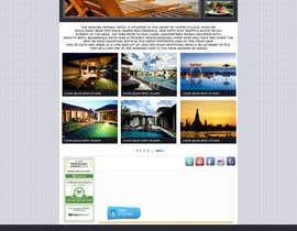 #21 cho Hotel website design template bởi PeraGraphics