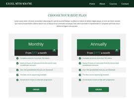 #9 cho Design a Website Mockup for pricing page bởi negibheji