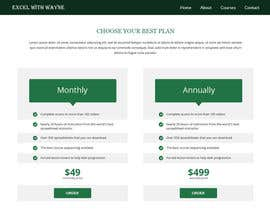 #13 untuk Design a Website Mockup for pricing page oleh negibheji