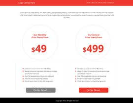 #1 untuk Design a Website Mockup for pricing page oleh Lakshmipriyaom