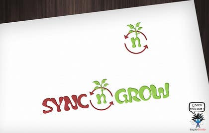 #24 for Design Logo & Favicon For Sync n Grow.com Website af BDamian