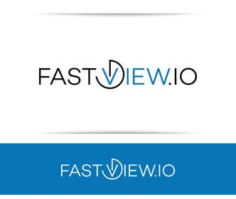 #153 untuk Design a Logo for Fastview.io oleh SergiuDorin
