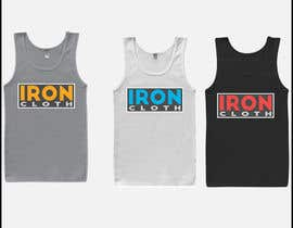 #93 untuk Tank Top design for Iron Cloth oleh Salmang