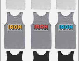 #96 untuk Tank Top design for Iron Cloth oleh Salmang