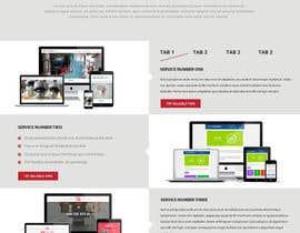 #7 untuk Design 2 pages for website billable oleh timimalik
