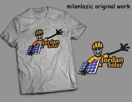 milanlazic tarafından Design a T-Shirt for Solar Company için no 113