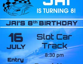 #22 for Design a Flyer for a birthday invitation af anshulbansal53