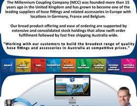 #10 for Design a single page one sided A4 Brochure! af kalebnation