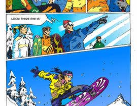 nº 4 pour Cartoon for Snowboard/Ski Online Shop par recevic