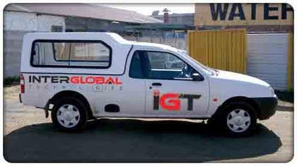 #1 untuk Design of Vehicle Signage for a Company Van oleh gorantomic
