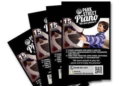 #175 untuk Design a Logo for a Piano Teacher oleh eliasbelisario