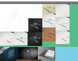 #112 untuk Develop an Identity (logo, font, style, website mockup) for AviationShake oleh Dokins
