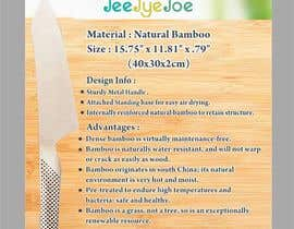 #17 for Design a Flyer for JEEJYEJOE Cutting Board with Stand af Shrey0017