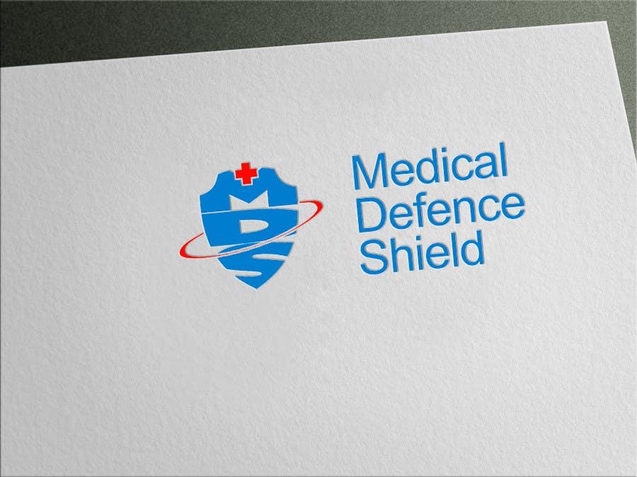 Inscrição nº                                         172                                      do Concurso para                                         Design a new Flat Logo for Medical Defence organisation