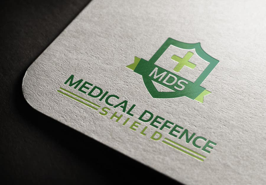 Inscrição nº                                         128                                      do Concurso para                                         Design a new Flat Logo for Medical Defence organisation