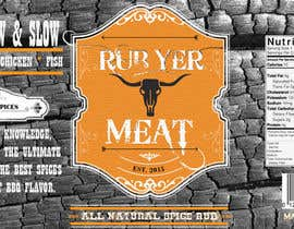 #32 cho Create Print and Packaging Designs for BBQ Rub Labels bởi sottosen