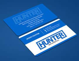 #55 for Design some Business Cards for hunter mechanical by ALLHAJJ17