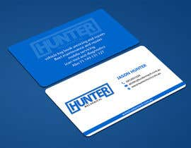 #58 for Design some Business Cards for hunter mechanical by ALLHAJJ17