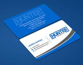 #59 for Design some Business Cards for hunter mechanical by ALLHAJJ17
