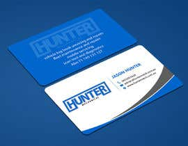 #61 for Design some Business Cards for hunter mechanical by ALLHAJJ17