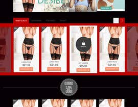 #13 cho Create a lingerie website theme bởi vikrant12112