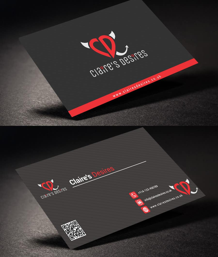 Entry #9 by rahabikhan for Mockup some Business Cards for a lingerie ...