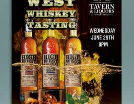 #23 cho Design a Flyer for High West Whiskey Tasting bởi gkhaus
