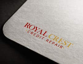 #34 untuk Design a Logo for ROYAL CREST CREDIT REPAIR oleh webexpo
