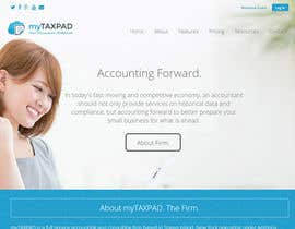 #5 untuk Design a clean, modern logo for cloud-based accounting firm with new generation oleh hics